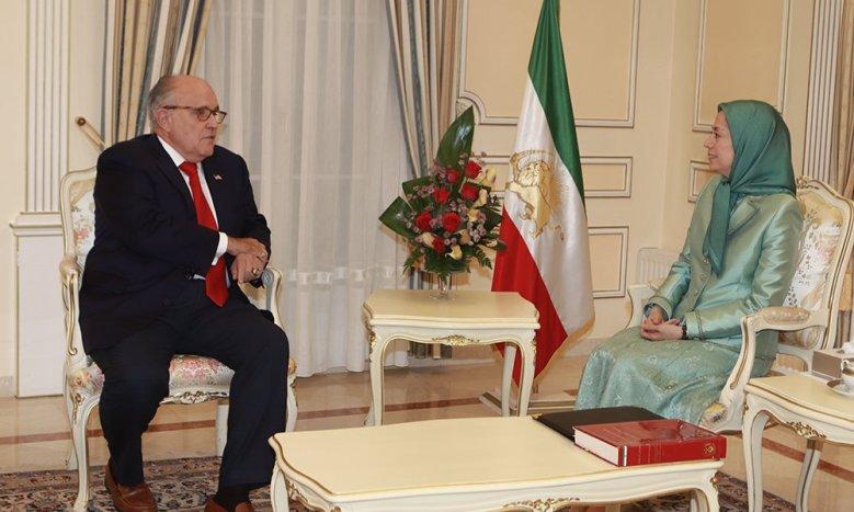 Maryam-Rajavi-meets-U.S.-Presidents-attorney-Rudy-Giuliani-10