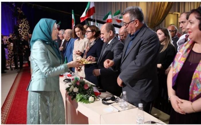 Elona_Gjebrea_praises_Maryam_Rajavi_for_keeping_modern_slaves_in_Tirana