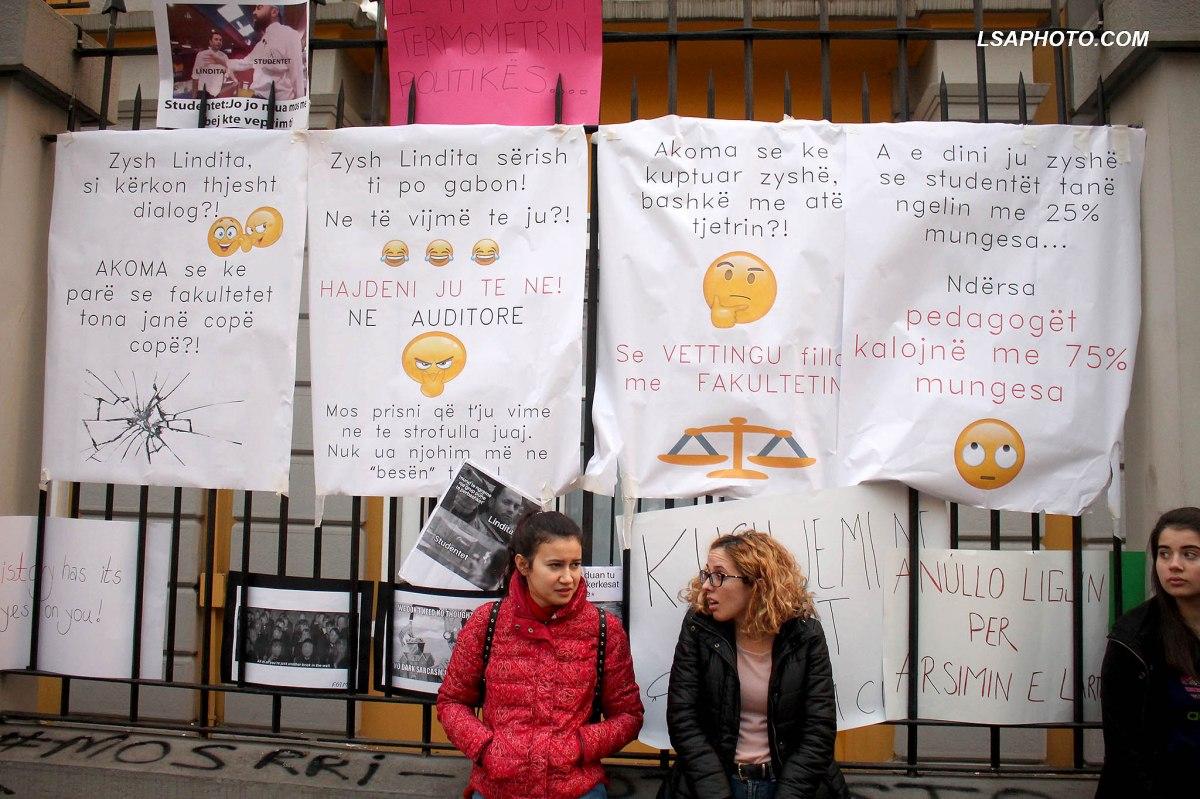 Studentët të vendosur/ Shkresë Ramës e Nikollës: Këto janë 8 kushtet tona të panegociueshme