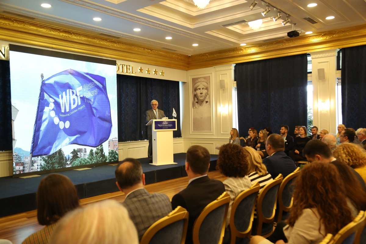 Sekretariati i WBF mban në Tiranë ceremoninë e dhënies së granteve për projektet fituese në Ballkan